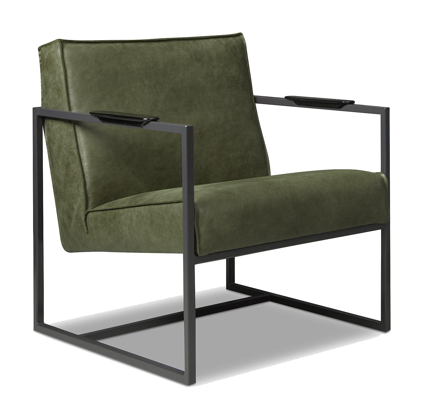 Meubelindustrie Het Anker Druten Bibi Olive fauteuils